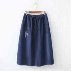 日系(WA8244) 牛仔半身裙