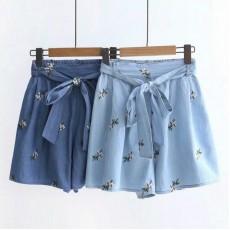 日系(WA8265) 牛仔短褲