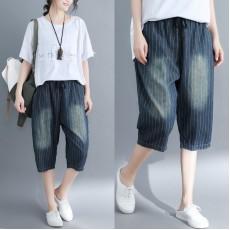 (F5153) 牛仔短褲  (大碼款)