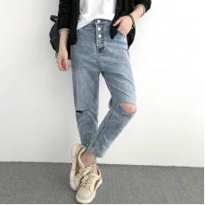 (NA1330) 簡約牛仔褲