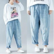(F5082) 牛仔褲 (大碼款)