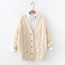 日系(WA7996)   針織外套