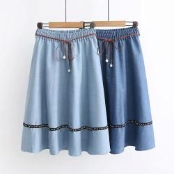 日系(WA8012)  牛仔半身裙
