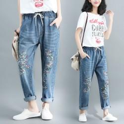 (F4840) 牛仔褲  (大碼款)