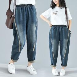 (F4851) 牛仔褲 (大碼款)