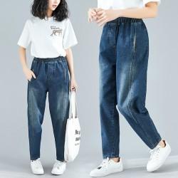(F4852) 牛仔褲 (大碼款)