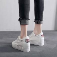 (SH003) 内增高厚底繡花鞋