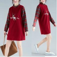 (F4556)  連身裙  (大碼款)
