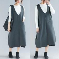 (F4572)  背心連身裙  (大碼款)