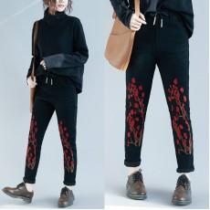 (F4553) 牛仔褲 (大碼款)