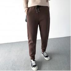 (A1402) 簡約棉質長褲