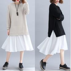 (F4490) 連身裙 (大碼款)