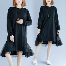 (F4493) 連身裙 (大碼款)