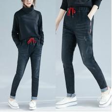 (F4503) 牛仔褲  (大碼款)