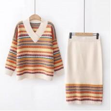 日系(WA7319) 針織套裝