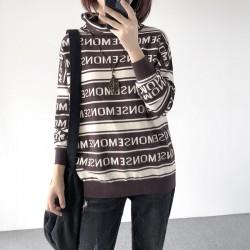 (A1254) 簡約針織上衣