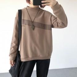 (A1258) 簡約棉質上衣