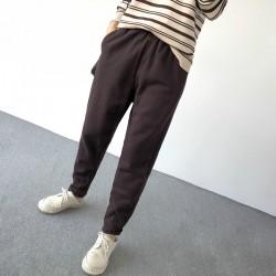 (A1259) 簡約棉質長褲