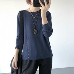 (A1262) 簡約針織上衣