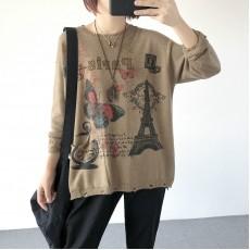 (現貨卡其色)(A1268) 簡約針織上衣