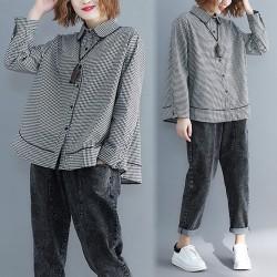 (F4023)  恤衫 (大碼款)