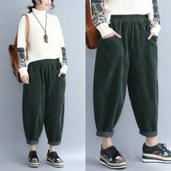(F4030) 長褲  (大碼款)