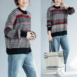 (F3978) 針織上衣 (大碼款)