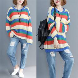 (F3991) 針織上衣 (大碼款)