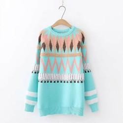 日系(WA7232) 針織上衣