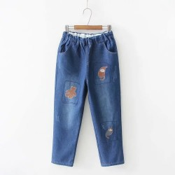日系(WA7234) 牛仔褲