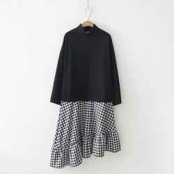 日系(WA7242)  連身裙