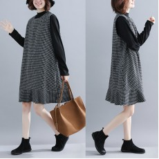 (F3902)  連身裙兩件套   (大碼款)