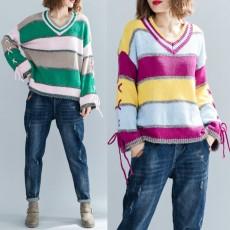 (F3669) 針織上衣 (大碼款)