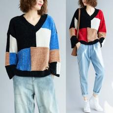 (F3670) 針織上衣 (大碼款)
