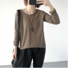 (A1222) 簡約棉質上衣