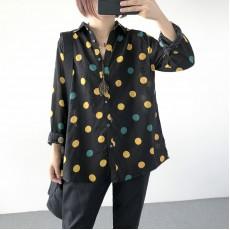 (A1229) 簡約麻棉恤衫