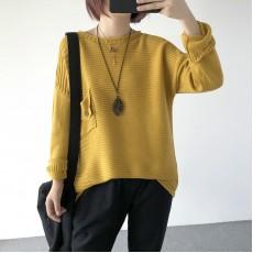 (A1231) 簡約針織上衣
