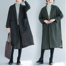 (F3610) 長款針織外套 (大碼款)