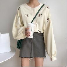 (A1198) 簡約棉布外套