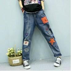 (A1200) 簡約牛仔褲