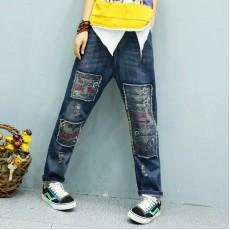 (A1201) 簡約牛仔褲