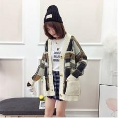 (A1209) 簡約針織外套