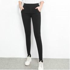 (現貨黑色3XL碼)(F3485) 長褲 (大碼款)