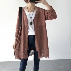 (現貨啡色)(A1163) 簡約針織外套
