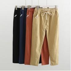 (現貨黑色卡其)日系(WA6525) 長褲