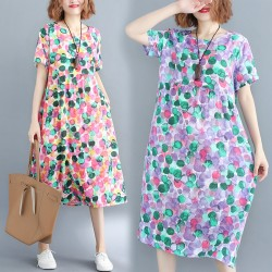 (F2898) 連身裙 (大碼款)