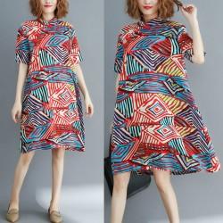 (F2902)  連身裙 (大碼款)