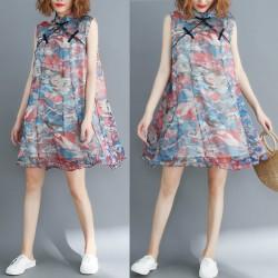 (F2903) 連身裙 (大碼款)