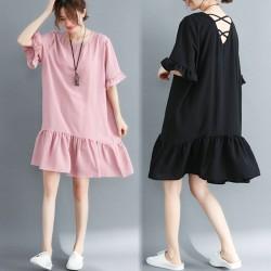 (F2907) 連身裙 (大碼款)