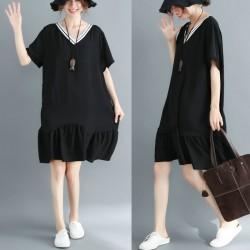(F2908) 連身裙 (大碼款)